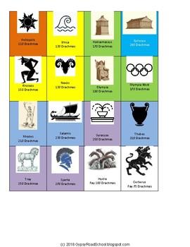Mythopoloy (Greek Myths / Gods themed board game)