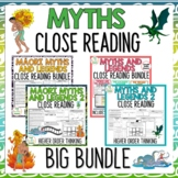 Myths BIG BUNDLE - Close Reading Texts with Higher Order Thinking