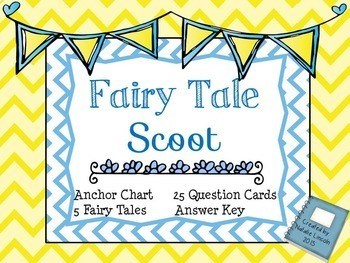 Myths, Fables, &  Fairy Tale Scoot Bundle!