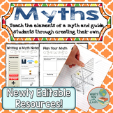 Myths Learn the Elements and Write One