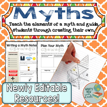 Myths: Learn the Elements and Write One