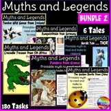 Myths & Legends BUNDLE Six Cultural Stories & Task Cards