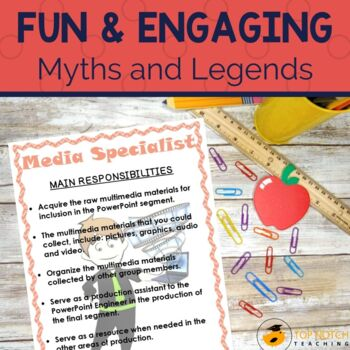 Myths and Legends Research Project