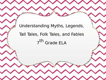 Myths, Legends, Tall Tales, and Fables for All!