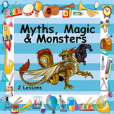 Myths, Magic & Monsters - Beowolf