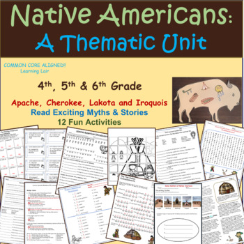Myths, Puzzles, and Mini-Lessons of Native Americans