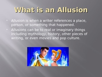 Myths and Allusions