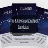 Myths and Constellations Flash Card Set