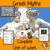 Myths and Legends Complete Unit of Work
