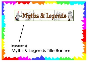 Myths and Legends Title Banner