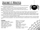 Myths in Latin : Arachne
