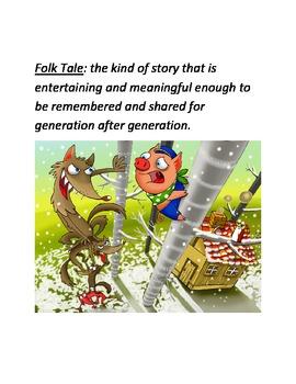 Myths/Folktales Key Terms