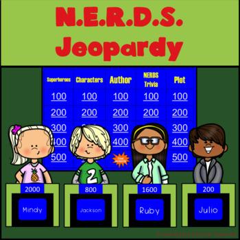N.E.R.D.S. by Michael Buckley Jeopardy