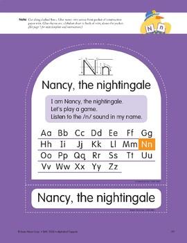 N: Nancy, the Nightingale