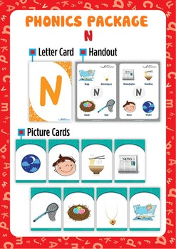 'N' Phonics Resource Package