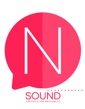 N Sound Printable Flashcards