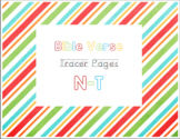 N-T Bible Verse Tracer Pages