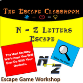 N - Z Letters Escape Room | The Escape Classroom