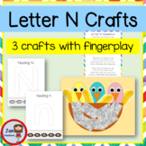 N is for Birds in a Nest Craft