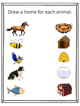 N is for Nest.  To use with My Father's World. Alphabet Worksheets