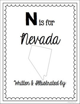 N is for Nevada (A State Alphabet Book)