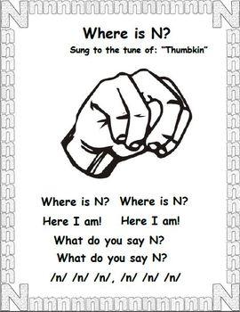 N is for Ninja (Letter N Unit)