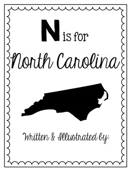 N is for North Carolina (A State Alphabet Book)