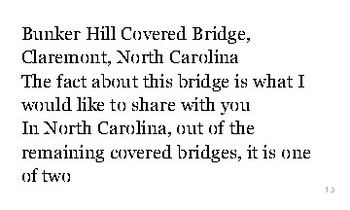 N is for North Carolina flash cards