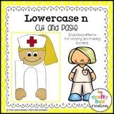 Letter N Craft | Nurse Craft | Alphabet Crafts | Lowercase Letter Activities