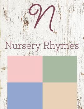 N is for Nursery Rhymes