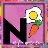 N is for Nutrition Themed Unit-Preschool Lesson Plans and Activities (one week)