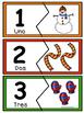 Nύmeros  0-10- Rompecabezas  de Invierno