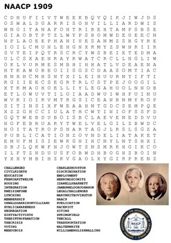 NAACP Word Search