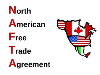 an introduction to the history of the north american free trade agreement nafta On december 8, 1993, a triumphant president bill clinton signed the north american free trade association (nafta) bill into law reflecting popular sentiment, he praised this monumental economic treaty by stating, i believe we have made a decision now that will permit us to create an economic.