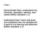 NAGC I Can Statements