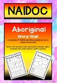NAIDOC - Aboriginal Education Activity and Word Wall pack
