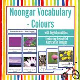 NAIDOC Australian Aboriginal Noongar Vocab Colour Flash Ca