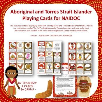 NAIDOC Playing Cards (Aboriginal & Torres Strait Island theme)
