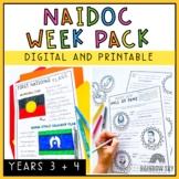 NAIDOC Week Activities - Year 3 and Year 4   Printable & D