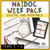 NAIDOC Week Activity Pack - Years 5-6