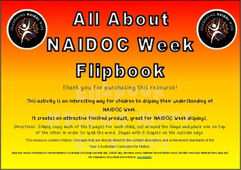 NAIDOC Week - Flipbook