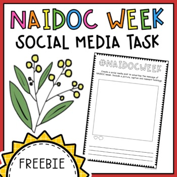 NAIDOC Week Social Media Task - Free Download