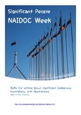 NAIDOC Week - report templates for significant Indigenous Australians