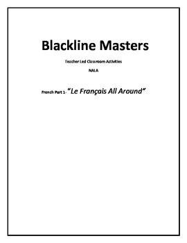 NALA-Blackline Masters For Teacher-Led Activities