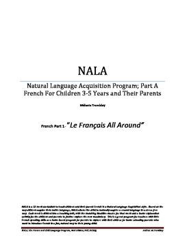 NALA- French Program Curriculum for Children-Parent