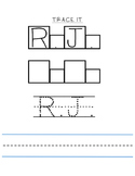 NAME GAMES- BUILD NAME- SPELL NAME- TRACE NAME- HANDWRITING- BUILD IT - PUZZLE