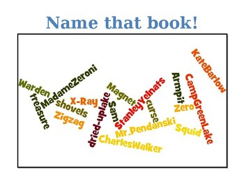 NAME THAT BOOK ! Brain break fun!