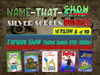 Name That Song Music Guessing Game Old Cartoon Theme Songs Silverscreen 5 Of 10
