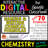NAMING & WRITING CHEMICAL FORMULAS ~ Digital Resource for