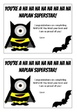 NAPLAN (Batman)- End of test notes